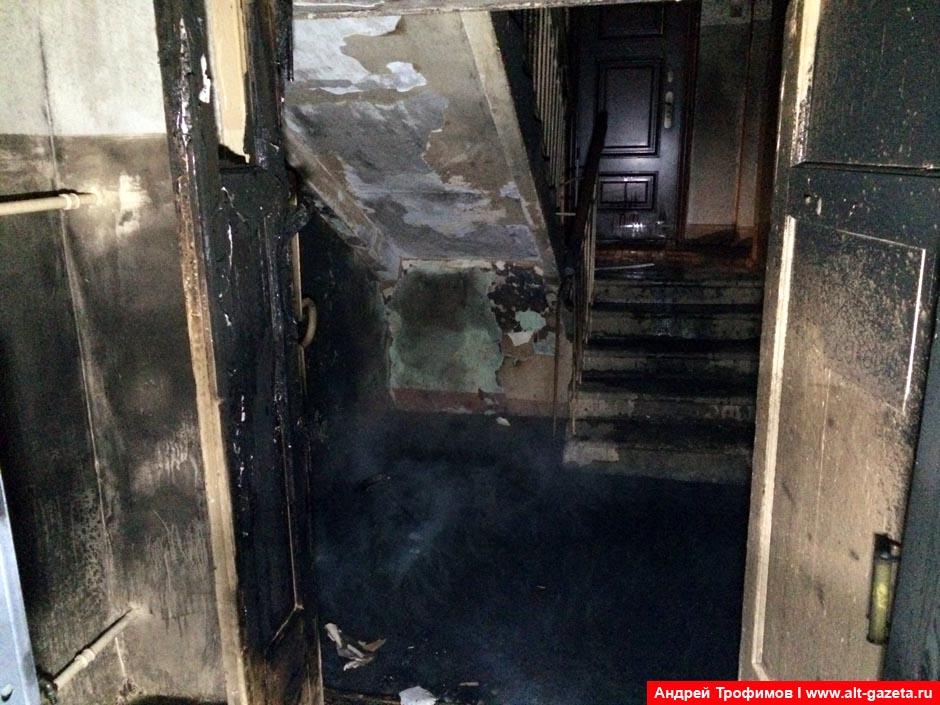 Второй пожар за 36 часов в доме 20 по Бероунской