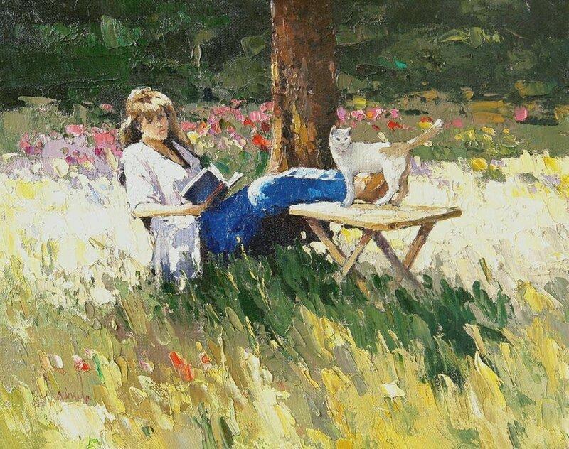 Алексей Зайцев. В саду