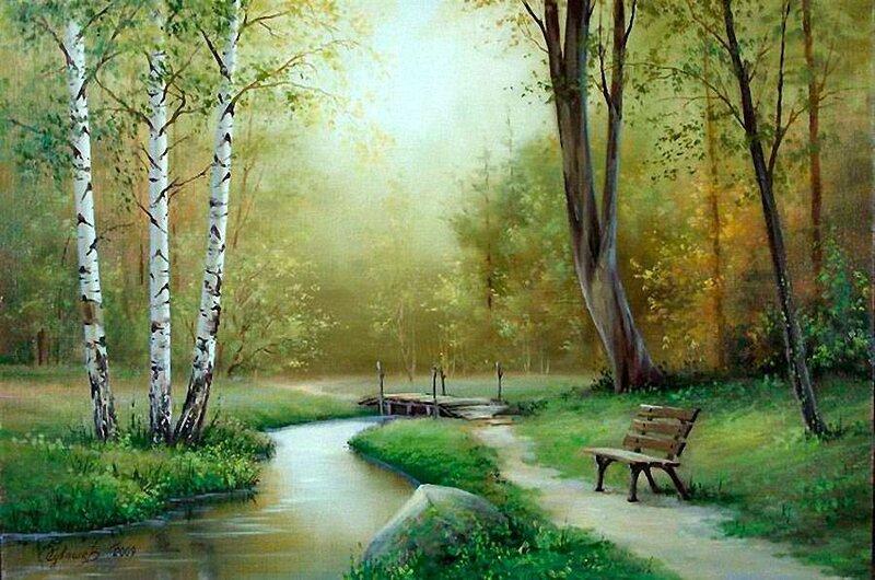 Белорусский художник Олег Чувашев. Нежные пейзажи и натюрморты 0 1110cd e135f21f XL
