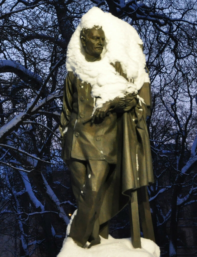 скульптор П. П. Клодт