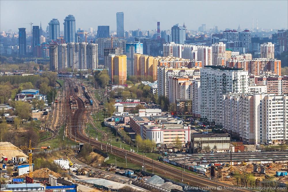 18. Станция «Очаково» и район Очаково-Матвеевское.
