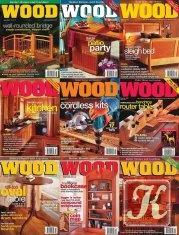 Книга Wood Magazine №130-138 2001