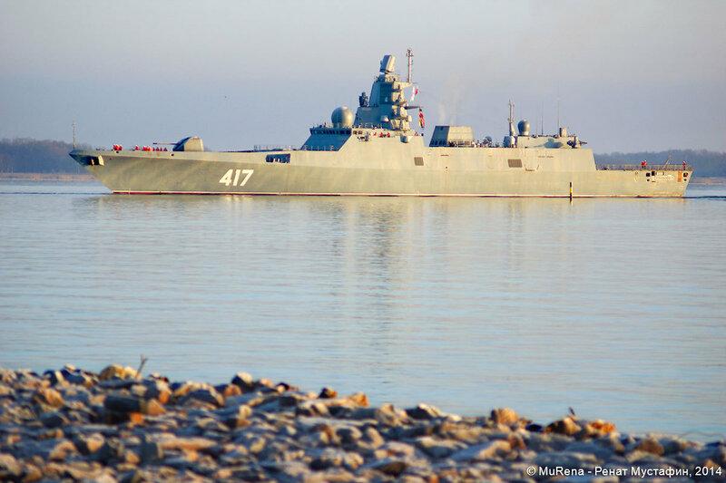 Фрегат проекта 22350 «Адмирал флота Советского Союза Горшков»