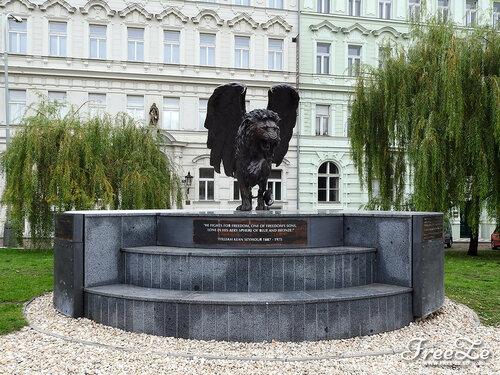 Крылатый лев, Кларов