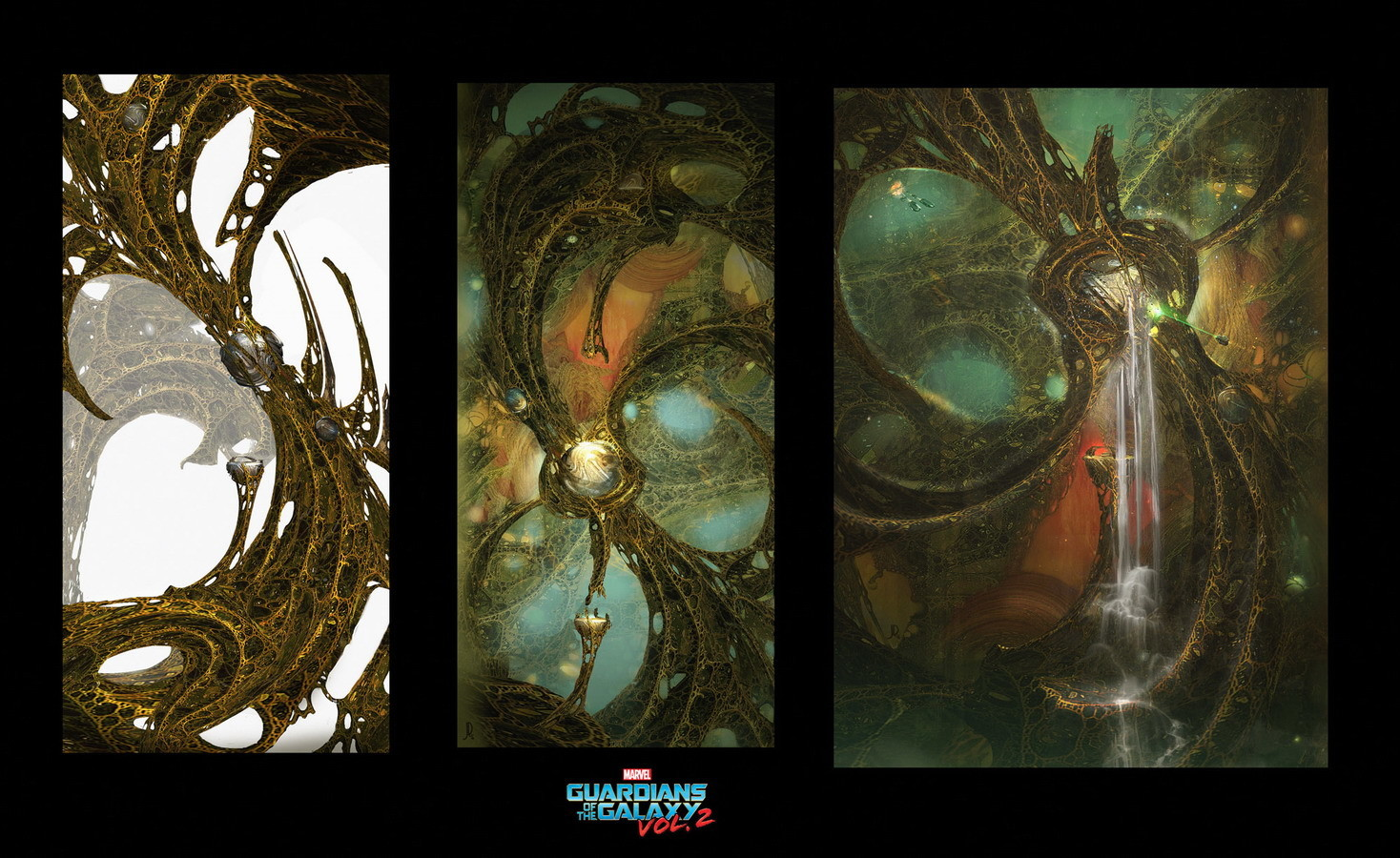 Guardians of the Galaxy Vol.2 Concept Art by John Dickenson