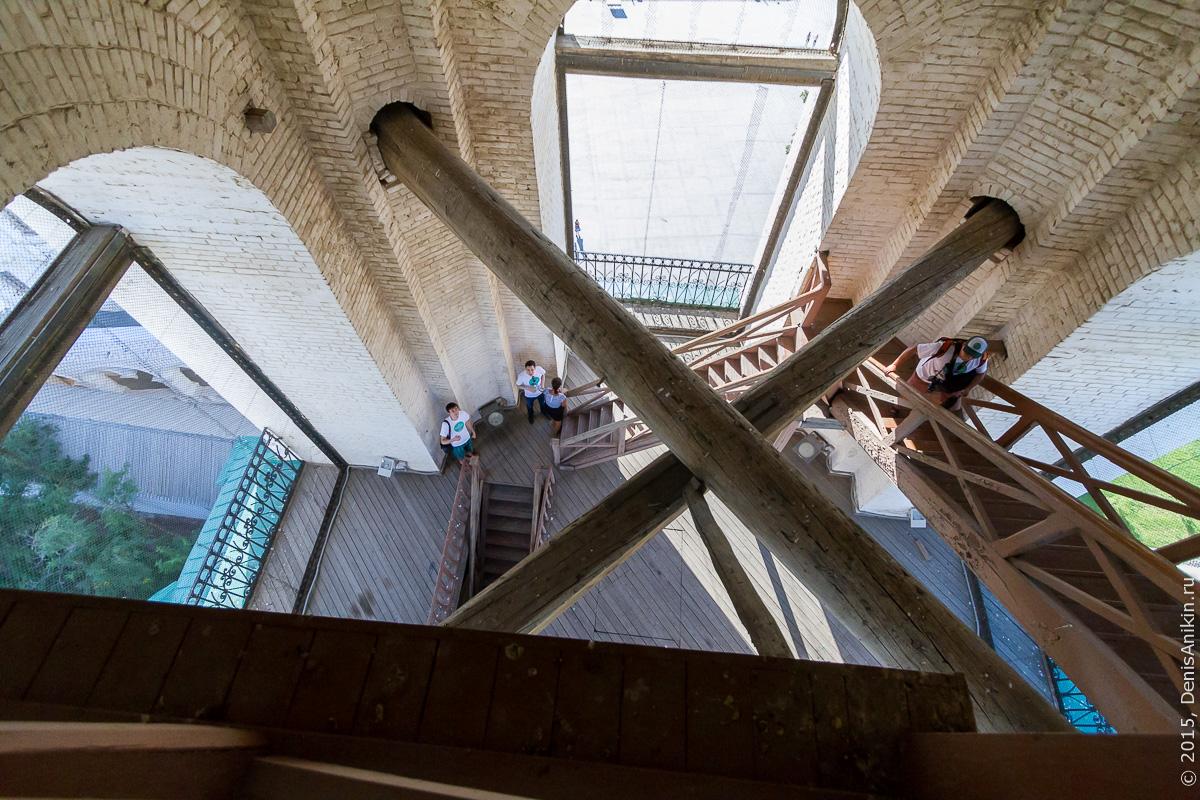 Соборная колокольня астраханского кремля 7