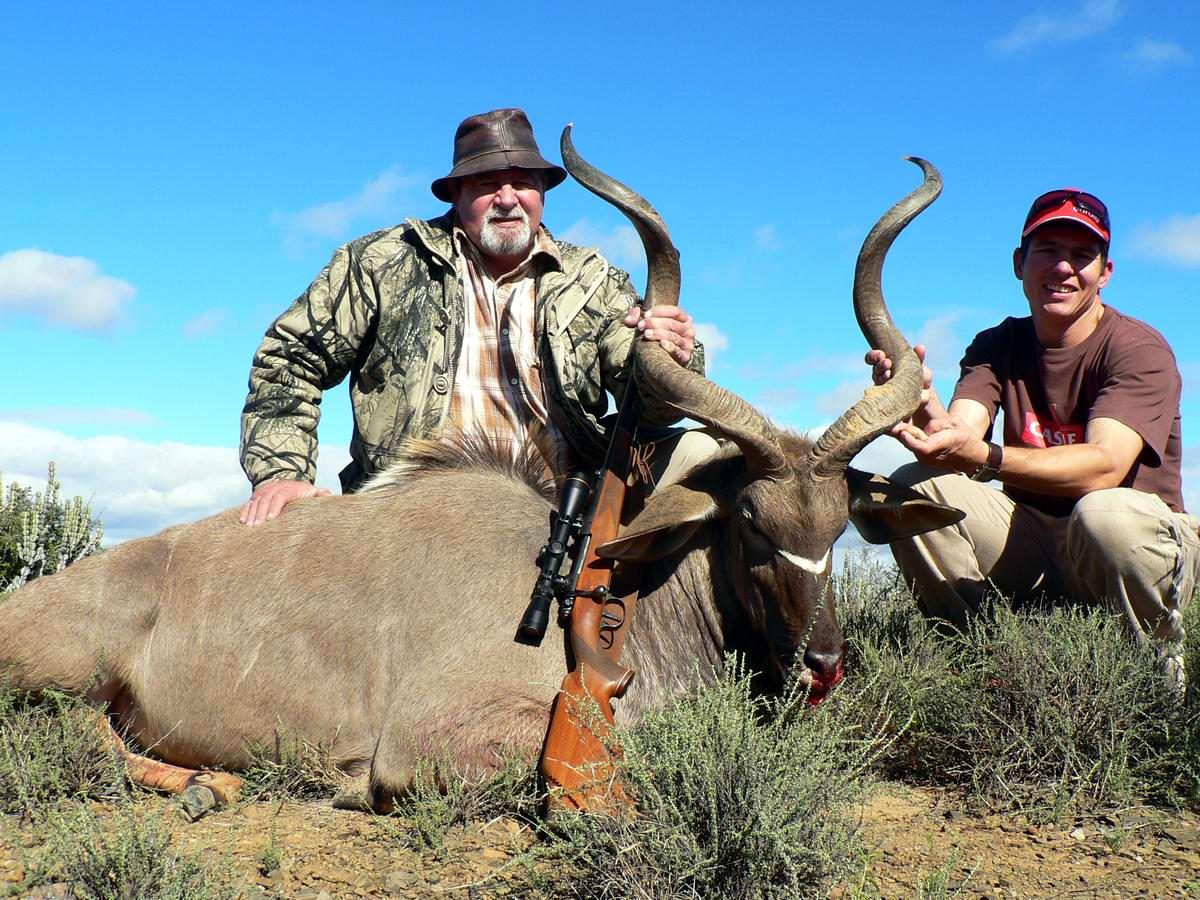 Южная Африка: охотники на антилоп и их трофеи (1)