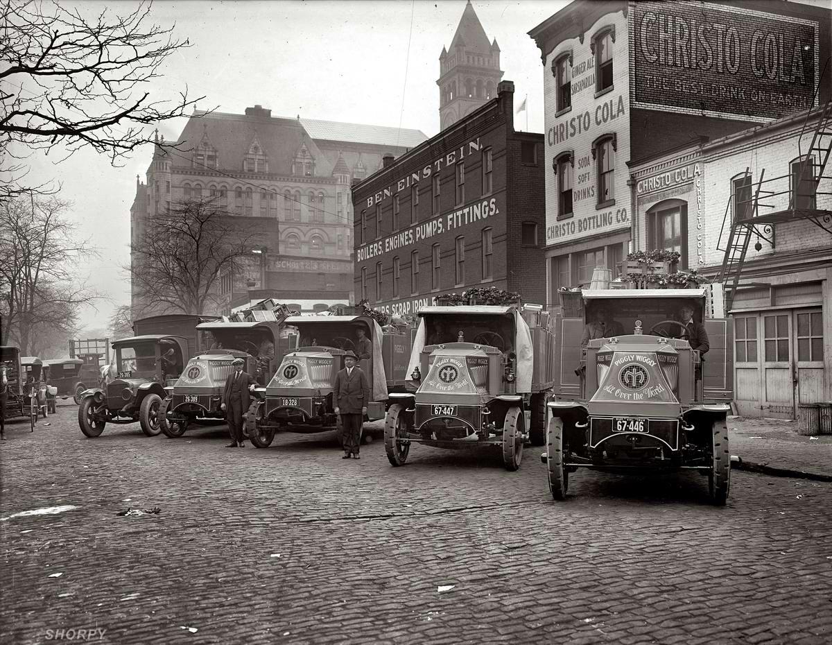 Специализированные транспортные средства начала 20-го века на снимках американских фотографов (44)