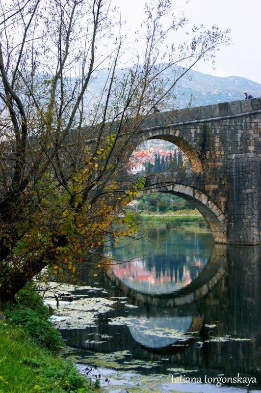 Мост Арсланагича - боковые арки