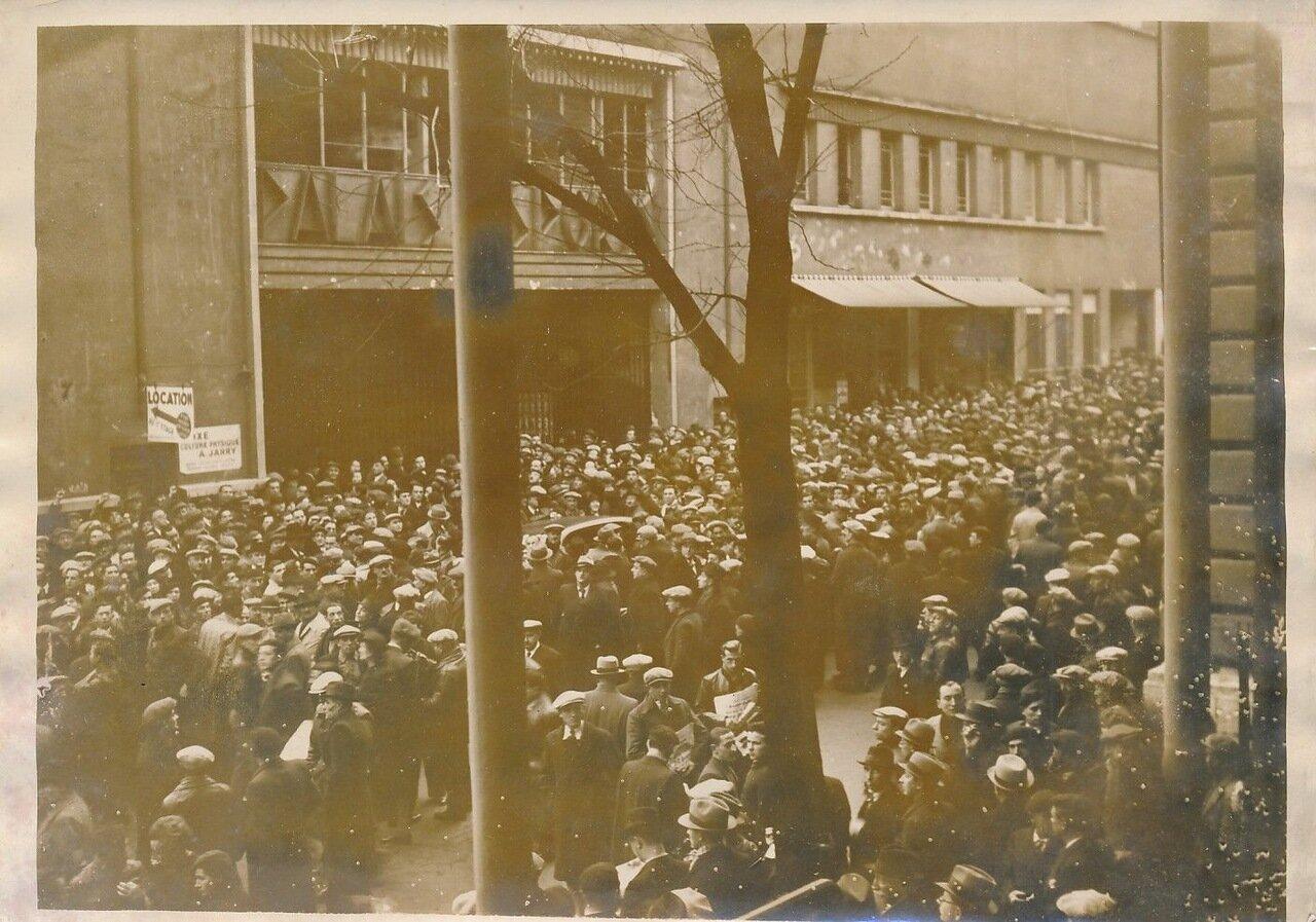 1936. Демонстрация ВКТ