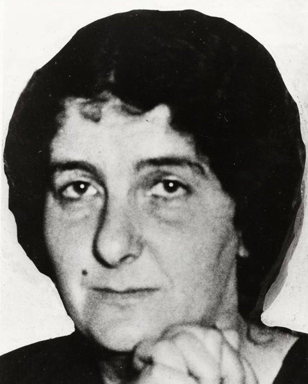1932.  Голда Меир в Милуоки для выступления с благотворительной речью