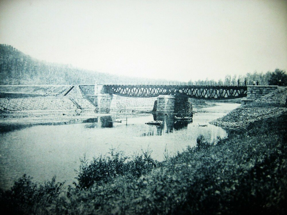 15. Мост через реку Унгурку на 176-й версте