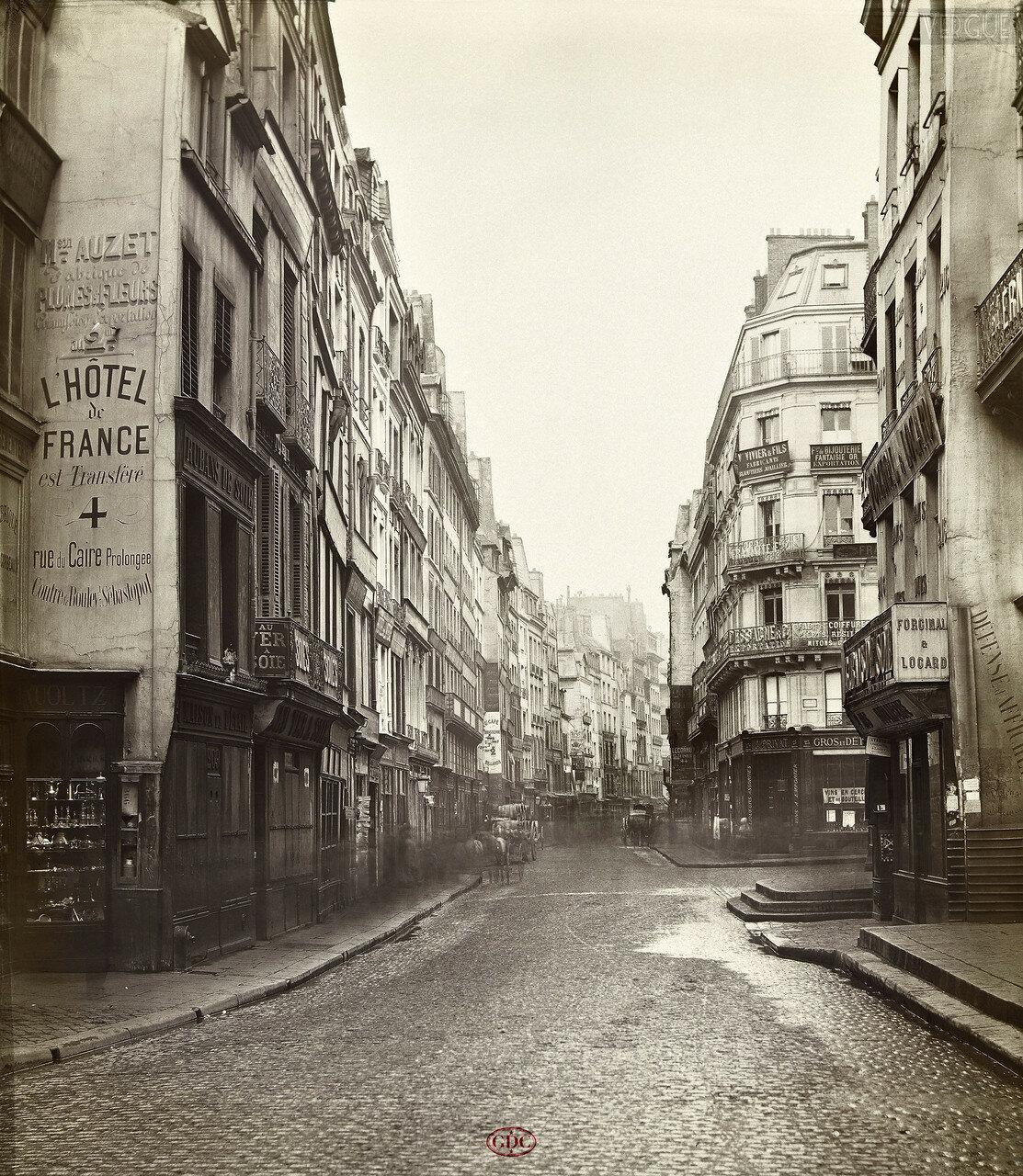 Рю Сен-Дени. 1866