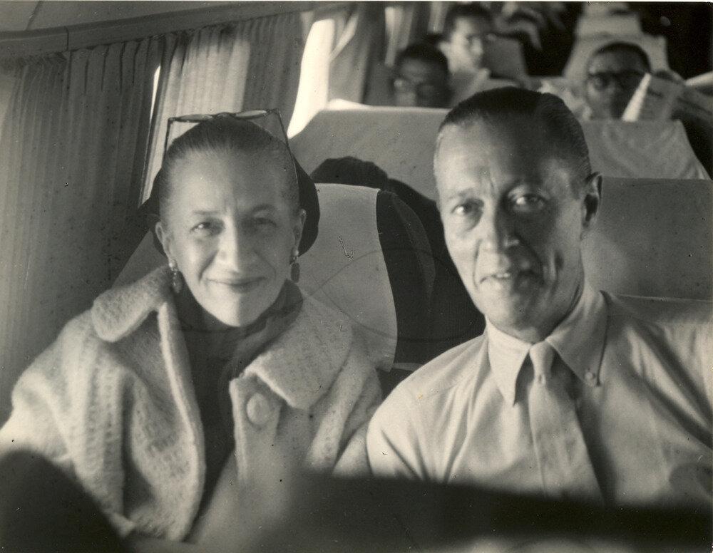 1950-е. Мистер и Миссис Рид Вриланд