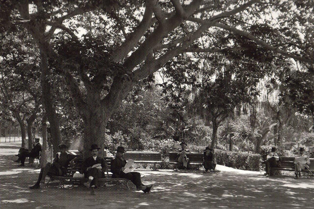 1920. Афины. Сад Заппейон