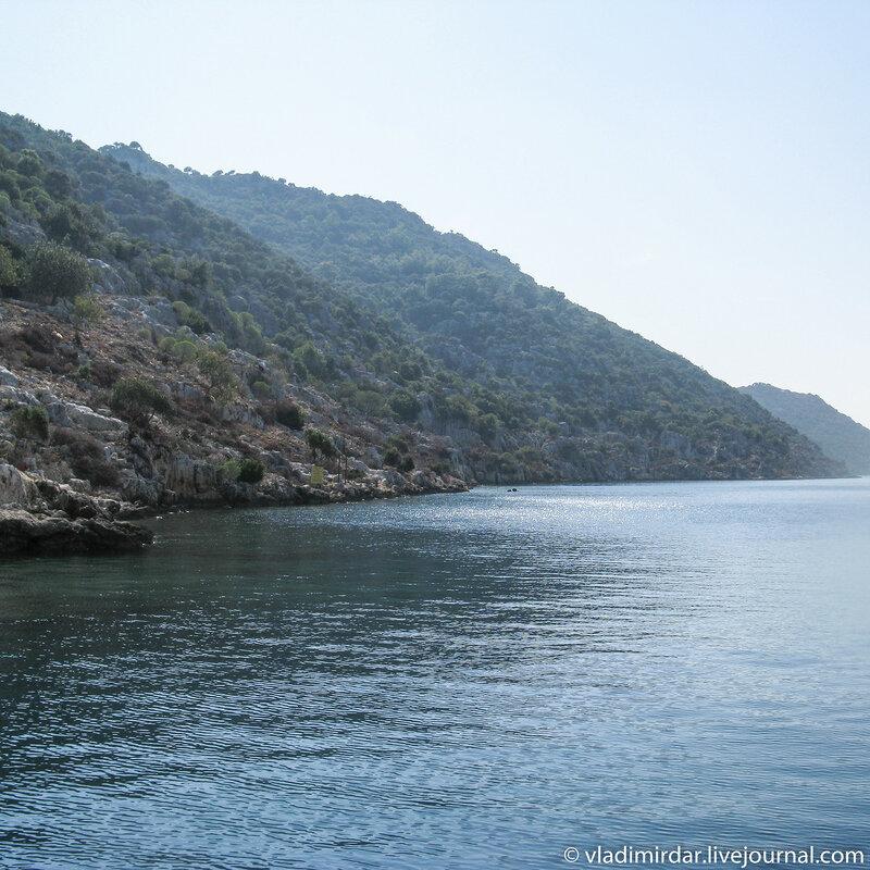 Древние берега острова Кекова