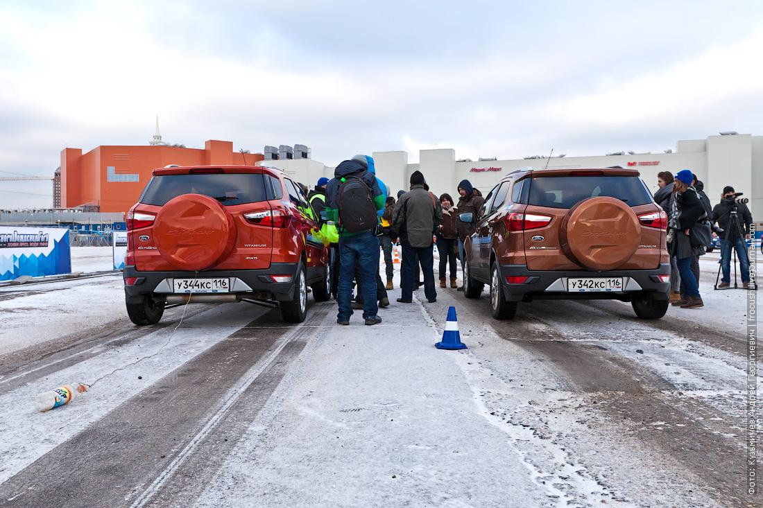 держи дистанцию Академия безопасного вождения Ford