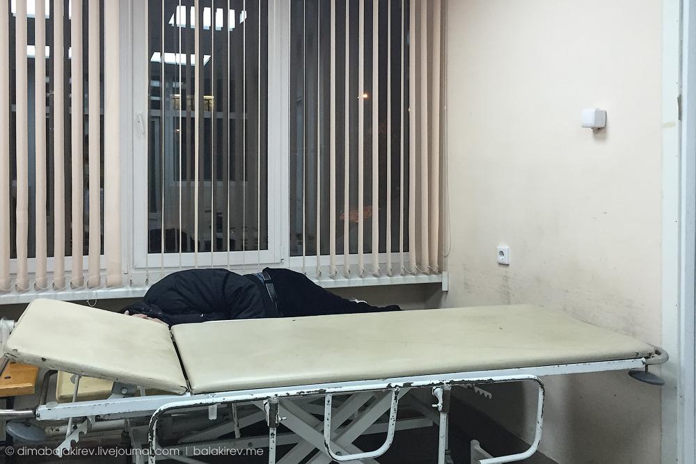 Репортаж из больницы