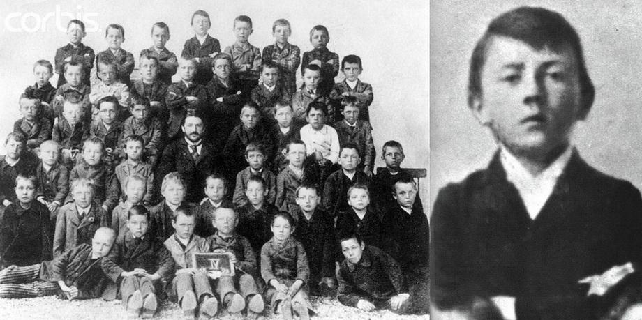 Школьная фотография 1901 г.