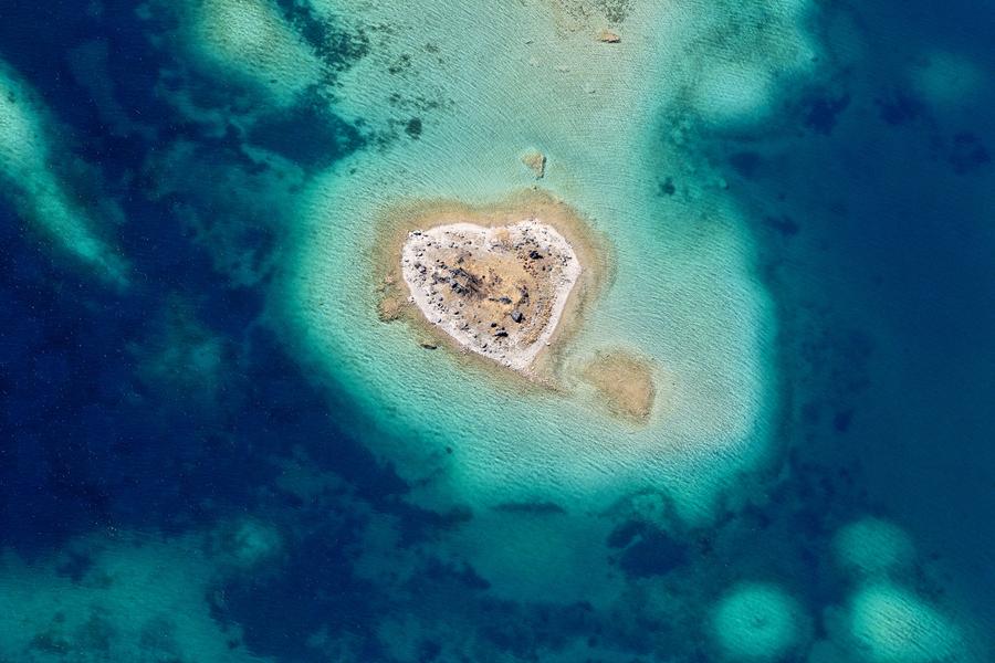 Insel im Eibsee