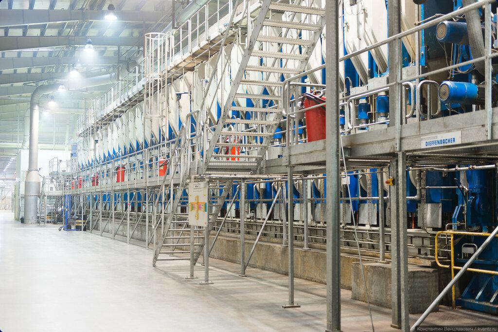Один из цехов завода Egger в Гагарине