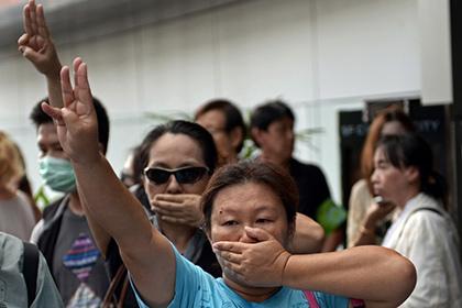 Пятерых студентов Таиланда задержали за жест из фильма «Голодные игры»