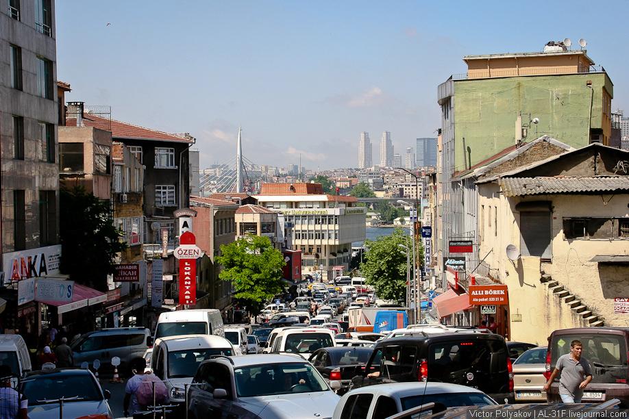 На дорогах Стамбула