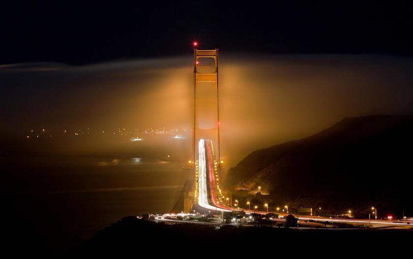 Красивые фотографии тумана в Сан Франциско, США 0 142267 f2028c47 orig