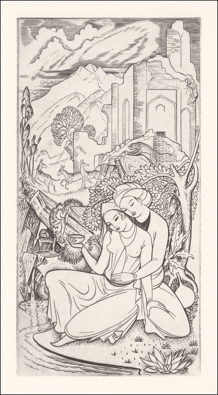 John Buckland Wright, Kwatrijnen van Omar Khayyam
