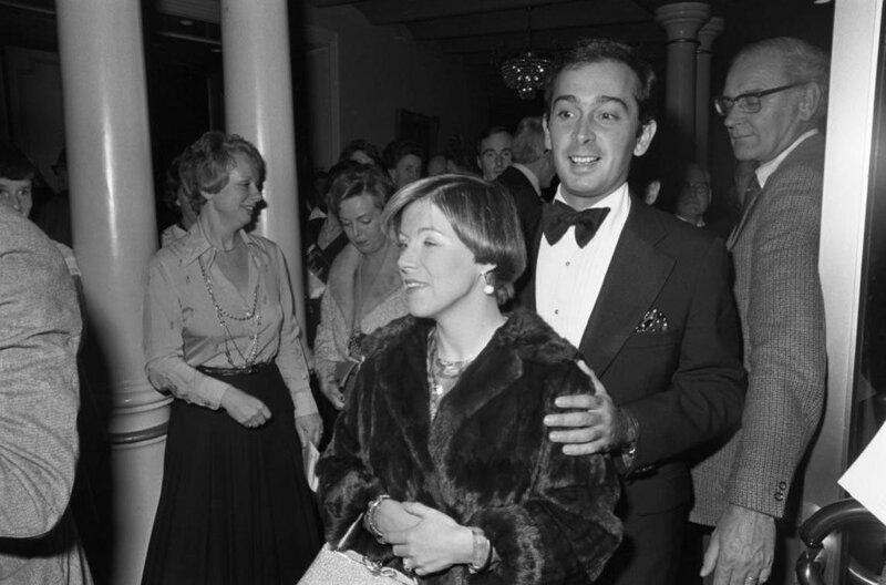 27 oktober 1976. Государственный визит шведских монархов.