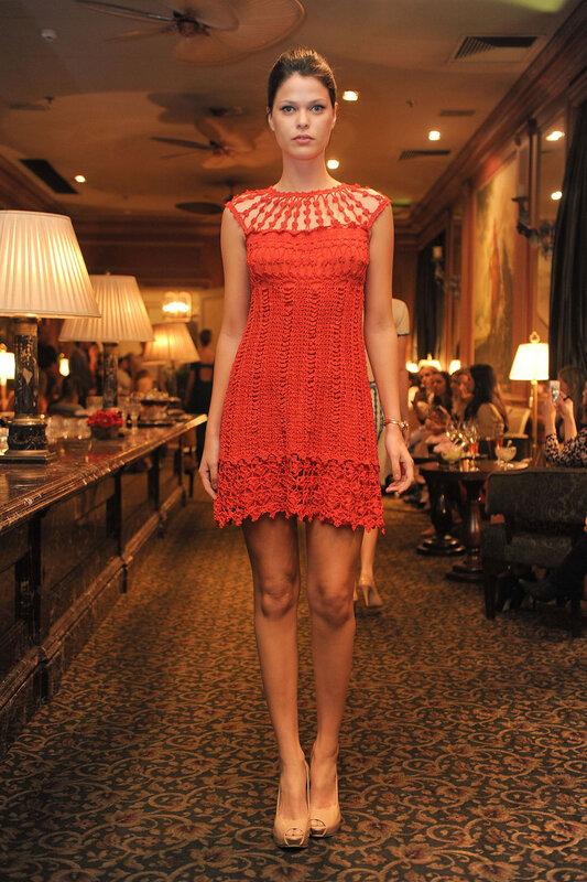 Платье кап ферре схема