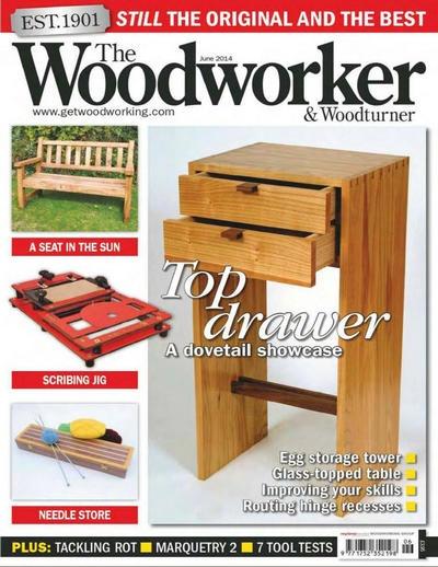 Книга Подшивка журналов: The Woodworker & Woodturner №№5, 6 (май, июнь 2014) [En]