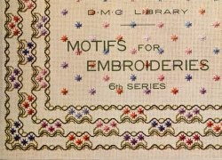 Motifs for embroideries