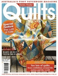 Журнал Down Under Quilts №144 2010
