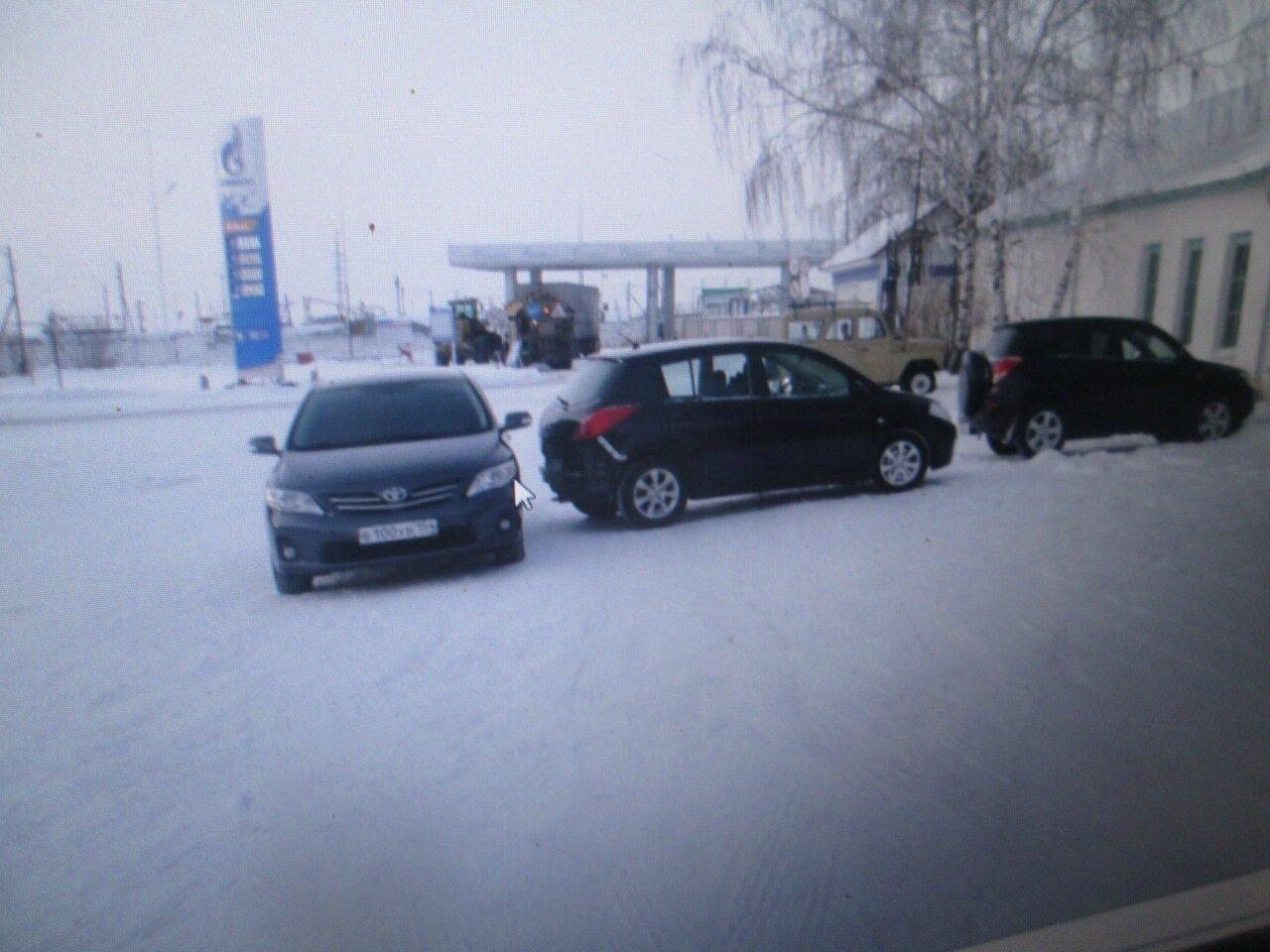 ДТП в Барабинске 2 декабря