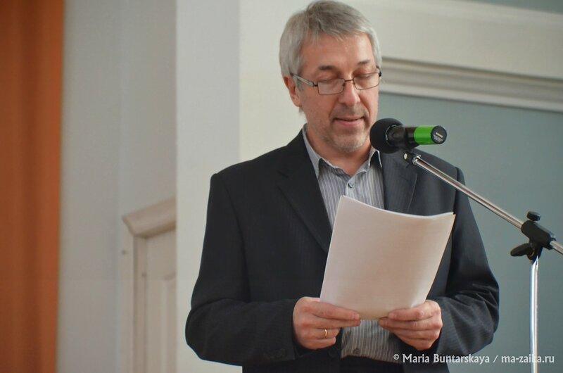 Весенняя сессия проекта 'Большое чтение', Саратов, областная универсальная библиотека, 13 апреля 2015 года