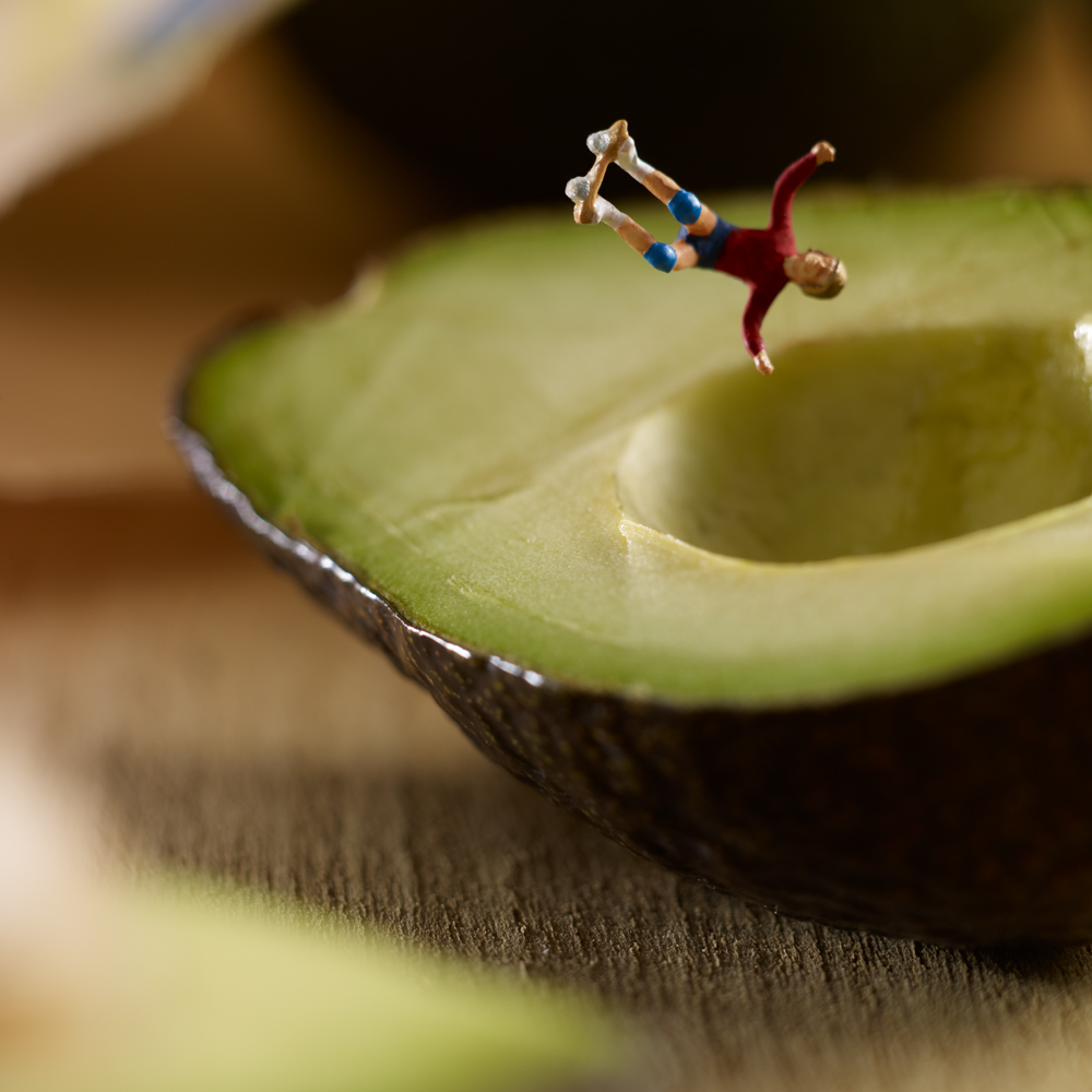 Culinary Photographers Create Edible Backdrops for a World of Miniature Inhabitants