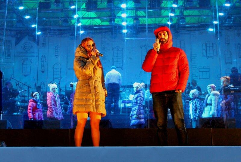 Зажигание главной ёлки Киева 2015
