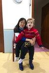 Нина и Сава в зале ЛФК (2)