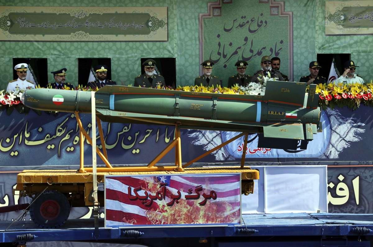 К 35-летию с момента начала ирано-иракской войны: Военный парад в Тегеране (12)
