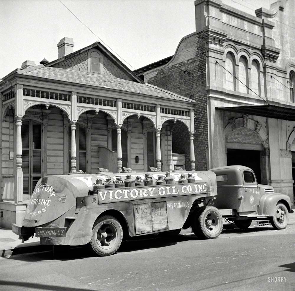Специализированные транспортные средства начала 20-го века на снимках американских фотографов (72)