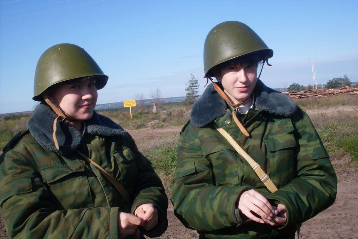От тайги до британских морей ... : Лица девушек из Российской армии (6)