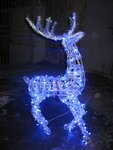 Светодиодные LED олени 3D фигуры топиари любого размера