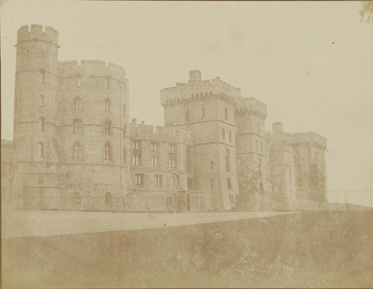 Виндзор, Англия. Виндзорский замок, Южный фасад