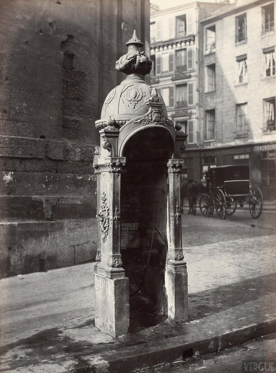 1875. Одноместный писсуар