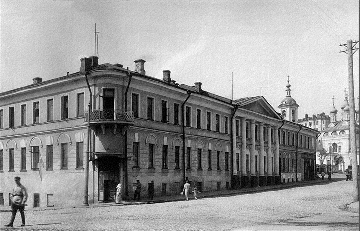 1920-е. Меж Лебяжьим и Волхонкой
