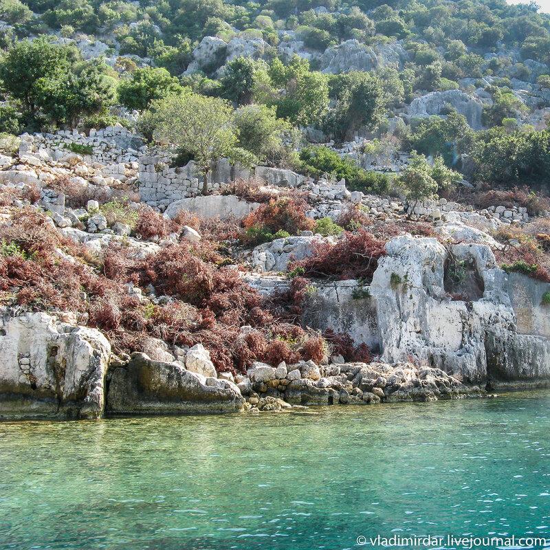 Затонувший античный город Долихисте