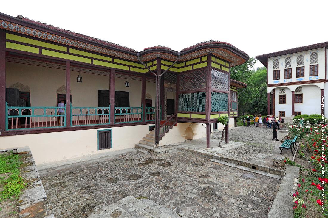 Гаремный корпус Ханский дворец