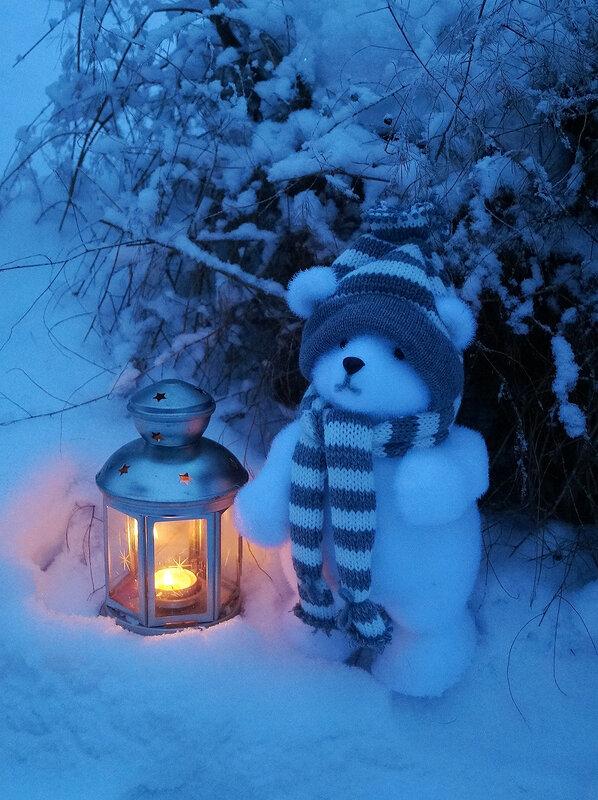 Сказка зимнего вечера