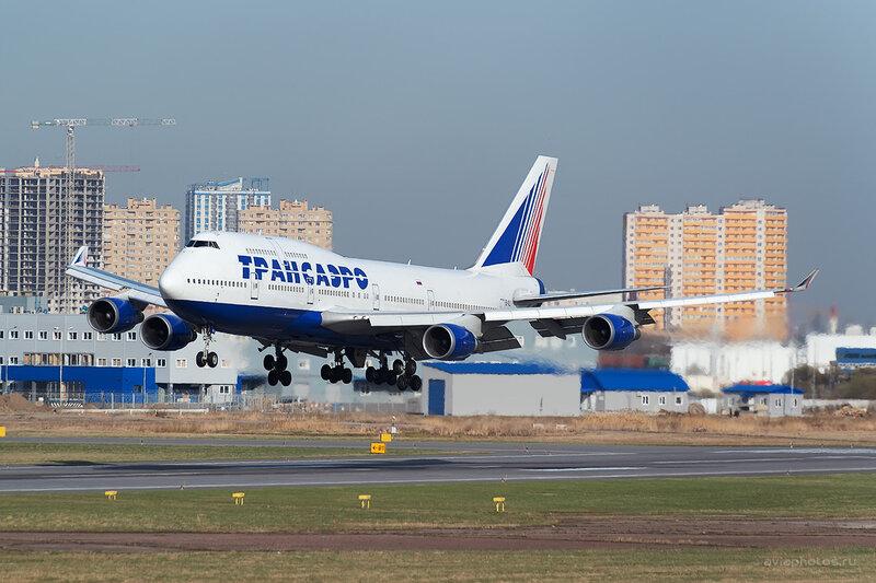 Boeing 747-446 (EI-XLI) Трансаэро D804405